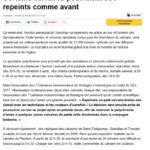 Ouest France du 05/08/2016